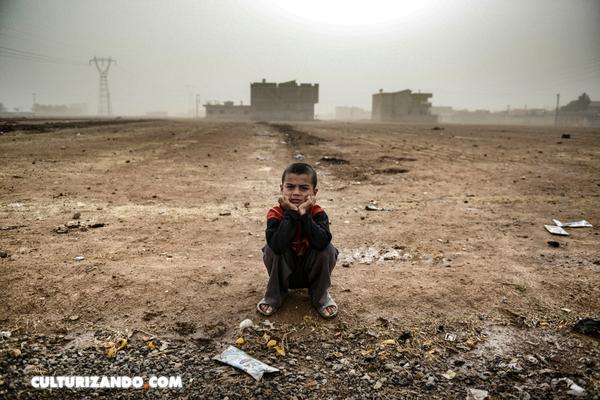 Los menores de 18 años representan más del 50% de la población en los países afectados por conflictos