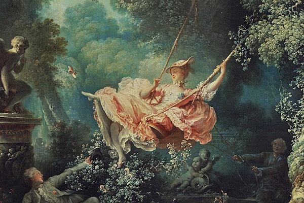 'El columpio': La icónica pintura del rococó, por Jean-Honoré Fragonard