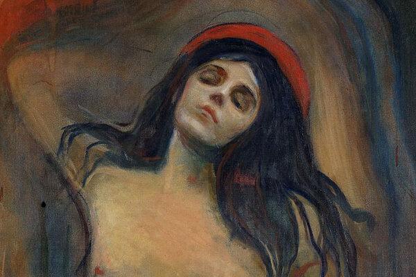 'Madonna' de Edvard Munch: La dualidad expresionista entre el placer y el dolor