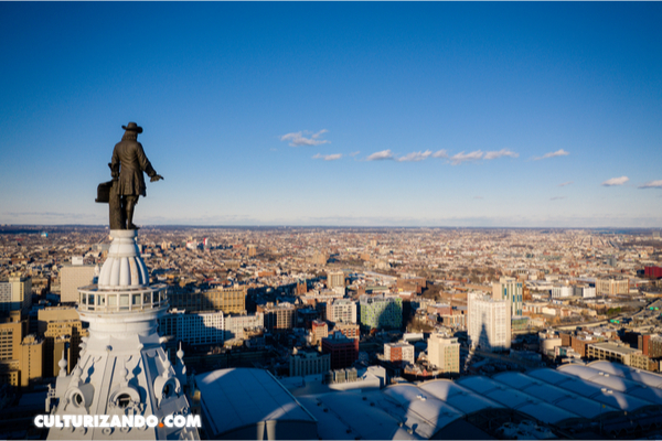 La estatua de William Penn y la maldición de Filadelfia