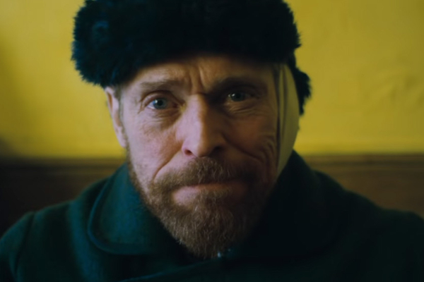 At Eternity's Gate con Willem Dafoe