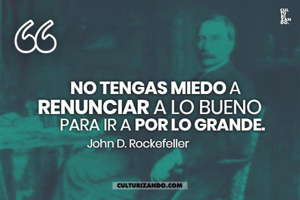 Las mejores frases de John D. Rockefeller