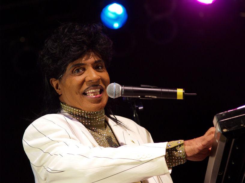 El legendario Little Richard, pionero del rock and roll