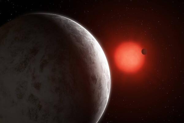 Descubiertas dos supertierras alrededor de la enana roja más brillante del vecindario solar