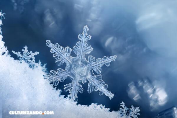 Descubierto el origen de las diferentes formas de los cristales de hielo