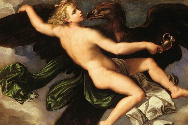 Conoce a Ganímedes, el amante de Zeus