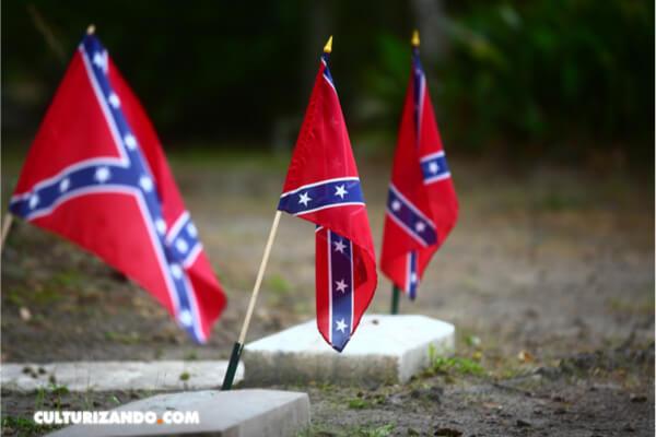 El Pentágono veta el uso de la bandera confederada