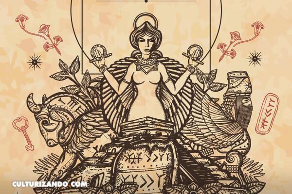 Te presentamos el mito de Ishtar, diosa del sexo y las trabajadoras sexuales