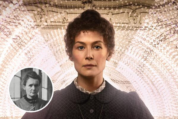 'Radioactive' la historia de Marie Curie
