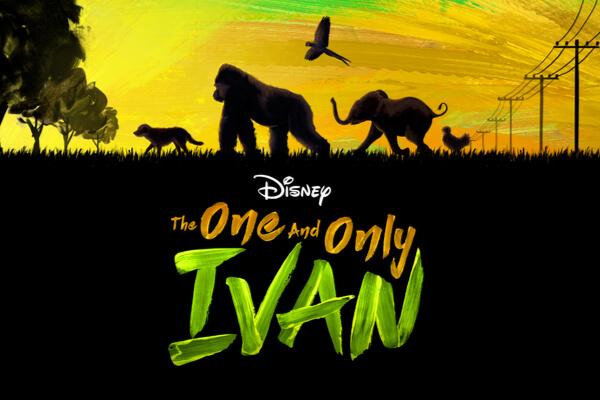 'The One and Only Ivan' la historia de un gorila de la vida real