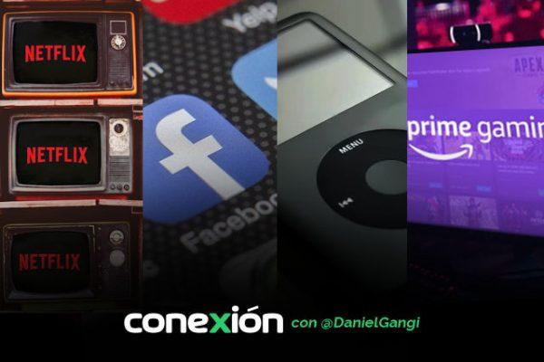 Conexión: Netflix aleatorio; Dr. Facebook; adiós Twitch; iPod estilo James Bond
