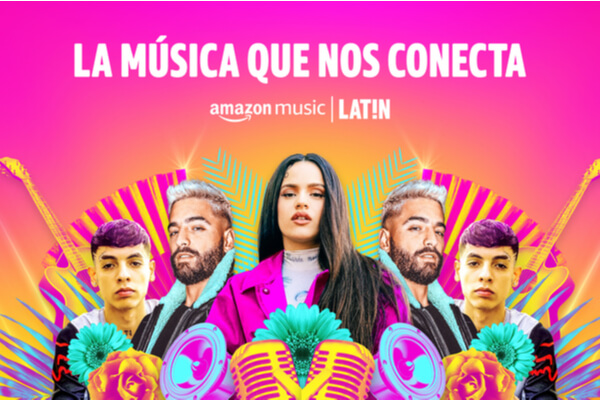 Amazon Music LATIN conecta con los latinos