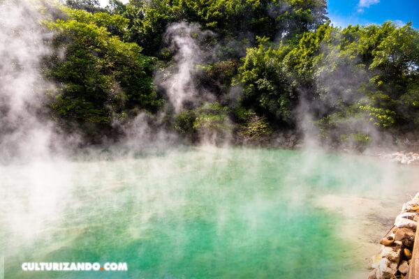 Los primeros humanos podrían haber cocinado en aguas termales antes que con fuego