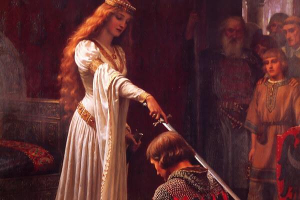 Entre la virtud y el pecado, el amor cortés de la Edad Media