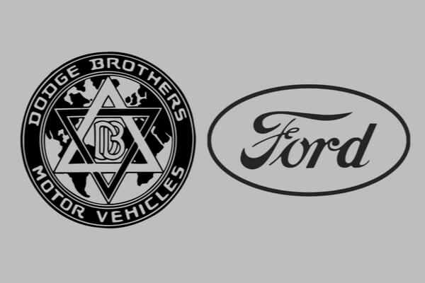 La primera guerra automotriz de Estados Unidos, Ford Vs Dodge