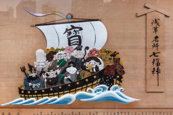 Conoce los Siete Dioses de la Fortuna en la mitología japonesa