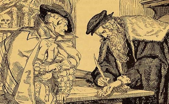 El comienzo del mito fáustico en la literatura