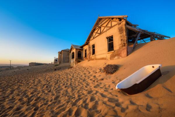 Ciudades abandonadas: la historia de Kolmanskop