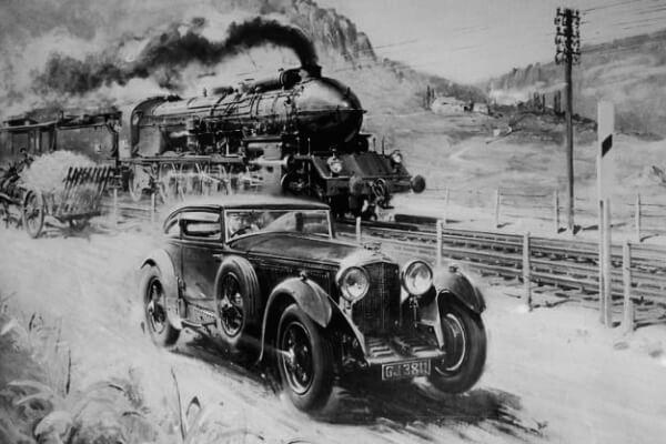 La Carrera Blue Train, hazaña y punto de honor