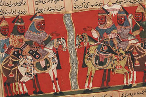 Conoce al legendario héroe persa Siyavash y a su inseparable caballo Shabrang
