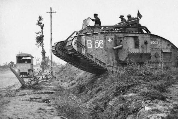 Los orígenes del tanque de guerra moderno