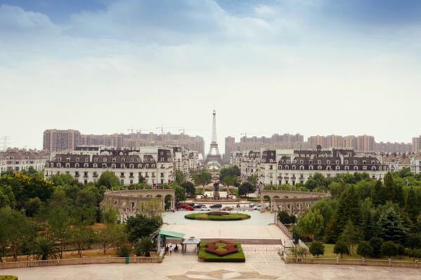 Tianducheng: la ciudad de París en China