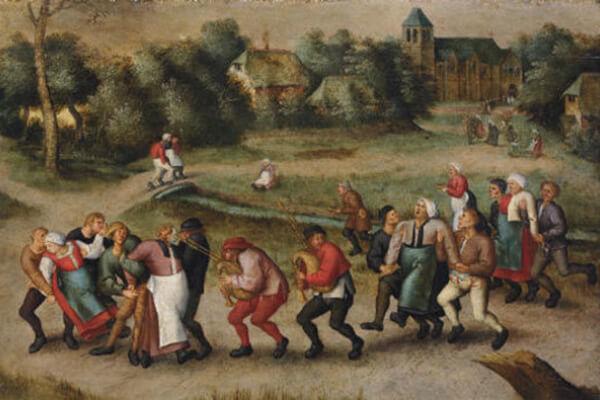 ¿Bailar hasta la muerte? Conoce la epidemia de baile de 1518