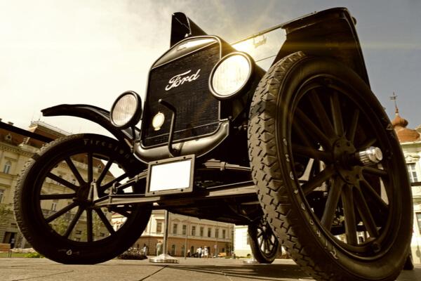 Ford T: el automóvil que cambió la historia