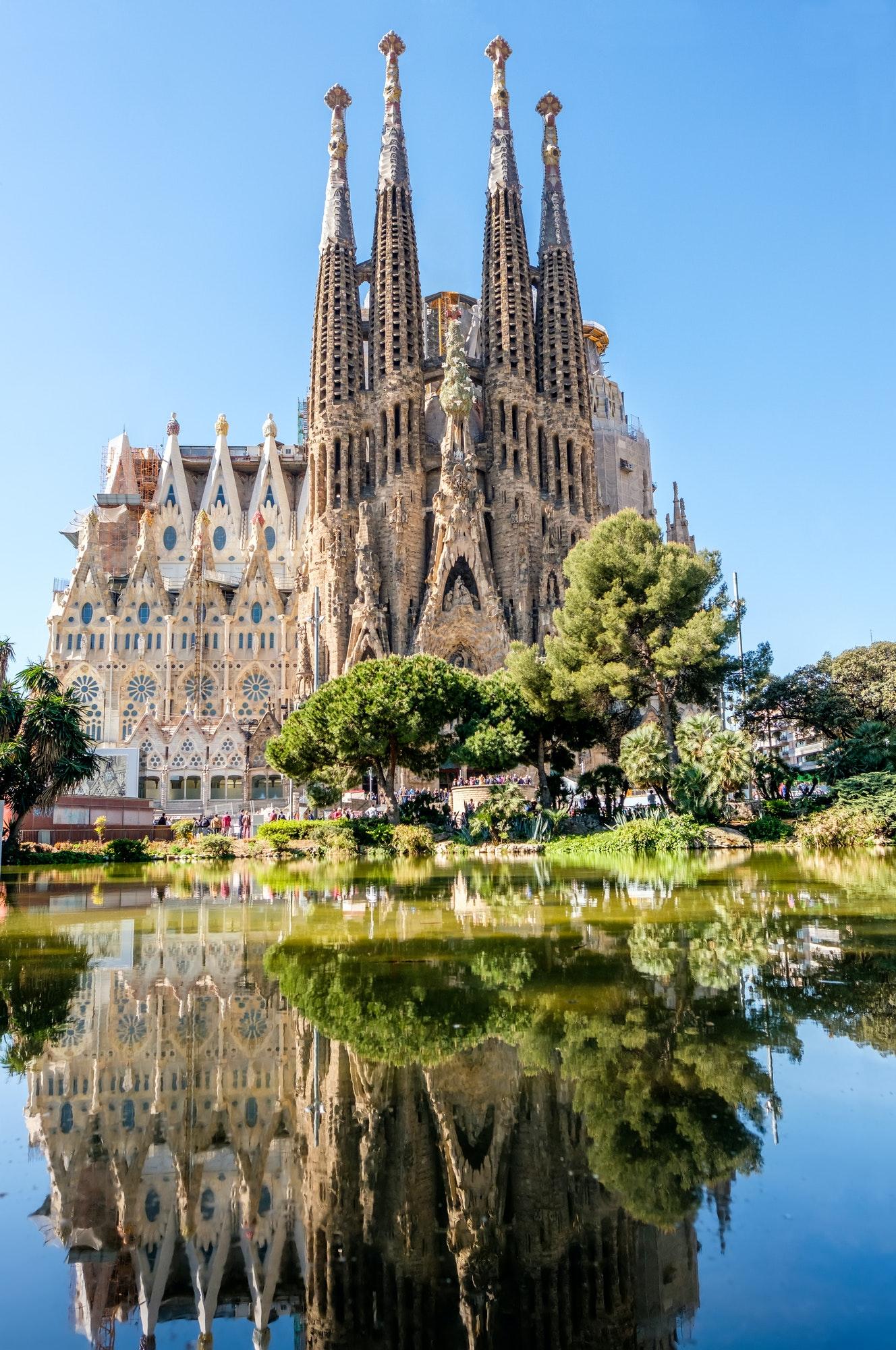 Sagrada Familia - Catholic church in Barcelona