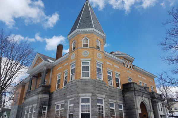 Biblioteca Haskell: el establecimiento dividido entre Estados Unidos y Canadá