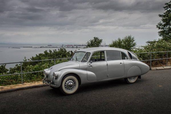 Tatra T87, una hermosa genialidad bohemia