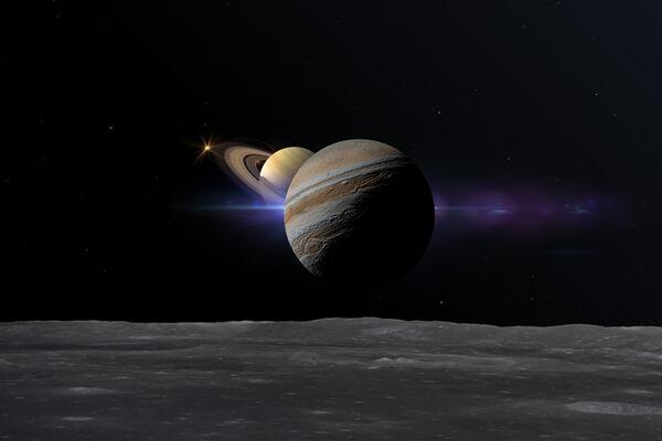 Júpiter y Saturno se acercan en un evento excepcional