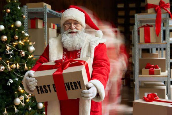 ¿Por qué enviar los regalos de navidad a domicilio?