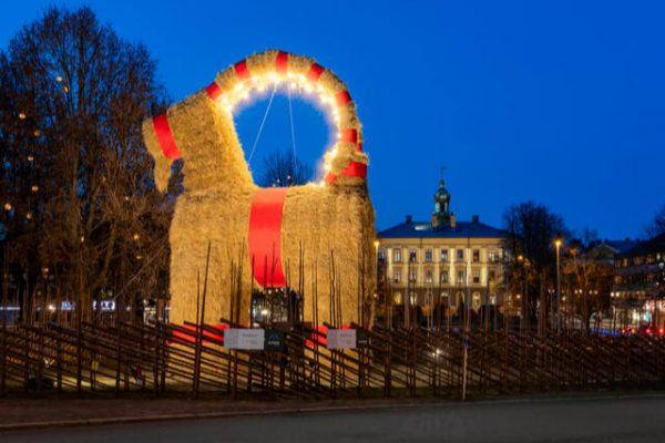 La cabra de Gävle: el símbolo de la Navidad de Suecia