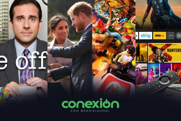 Conexión: Conoce lo nuevo de Peacock, Amazon Fire TV y el parque Super Nintendo World