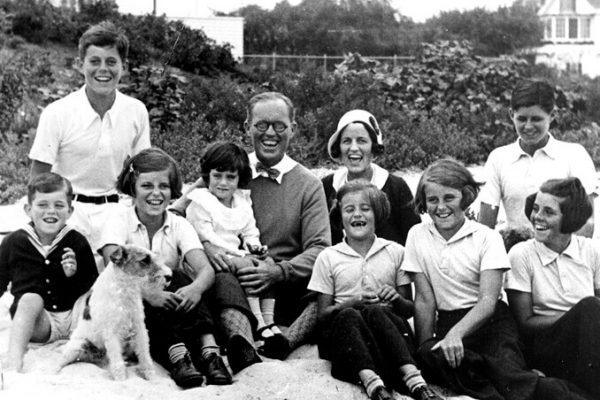 La tragedia de la familia  Kennedy