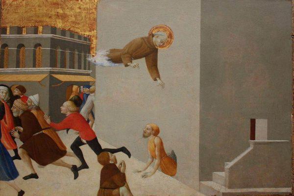 Pinturas bizarras: Sassetta y 'El beato Ranieri libera a los presos de la prisión de Florencia'