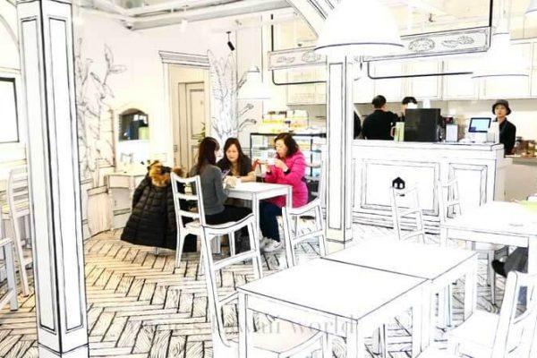 Yeonnam-dong 239-20: un café que te transportará a un cómic