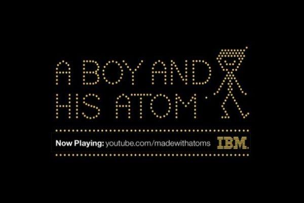'Un chico y su átomo': la película más pequeña del mundo