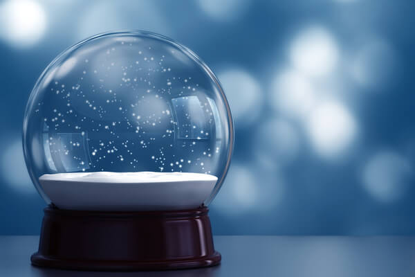 Te contamos cómo fue la invención de los globos de nieve
