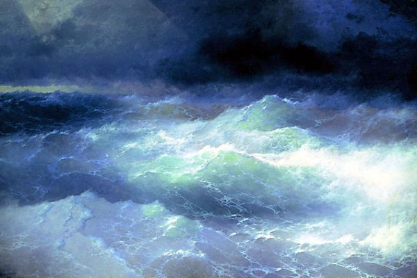 7 datos del pintor Iván Aivazovsky, el pintor marino