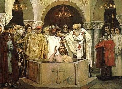 San Vladimiro de Kiev,  el santo que tuvo un harén de 800 concubinas