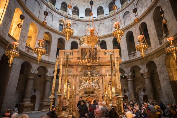 ¿Sabías que la iglesia del Santo Sepulcro fue un templo a la diosa Venus?
