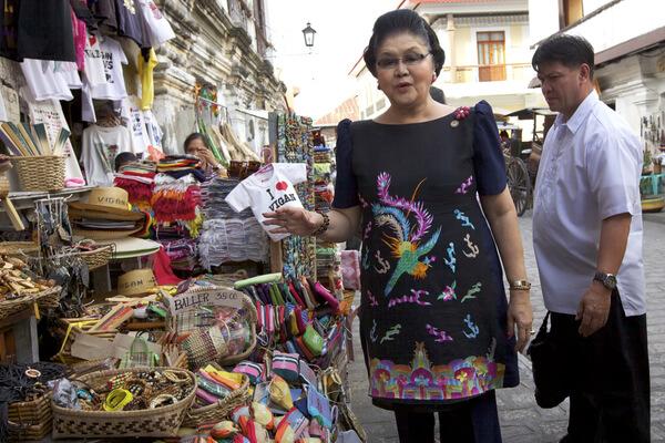 Privilegios de la dictadura: el clóset de Imelda Marcos