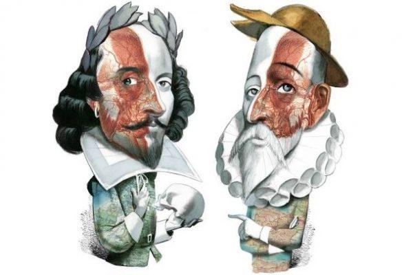 ¿Realmente Shakespeare y Cervantes fallecieron el mismo día?
