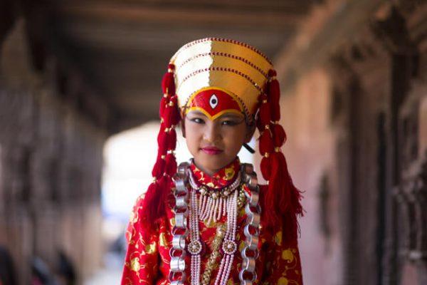 Las kumari, niñas diosas del Nepal