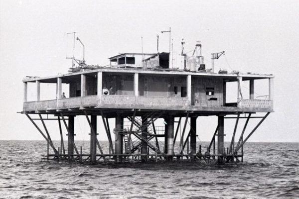 La increíble historia de Giorgio Rosa, el hombre que construyó su propia isla