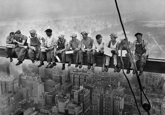 'Almorzando sobre un rascacielos': una fotografía de historia