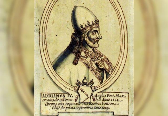Muertes Absurdas: El papa Adriano IV, en boca cerrada no entran moscas