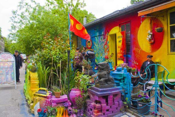 Christiania, una comuna hippie atrofiada por el paso de una era